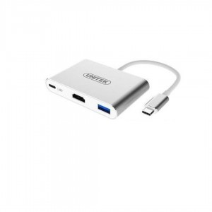 Adapter Unitek Multiport Hub (USB-C/USB 3.0/2xUSB 2.0/HDMI)