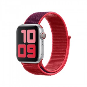 Opaska sportowa z edycji (PRODUCT)RED do koperty 40 mm
