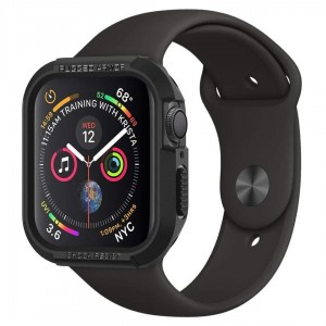 Etui ochronne SPIGEN Apple Watch 4/5 44mm Rugged Armor (czarne)