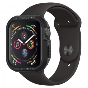 Etui ochronne SPIGEN Apple Watch 4/5 40mm Rugged Armor (czarne)