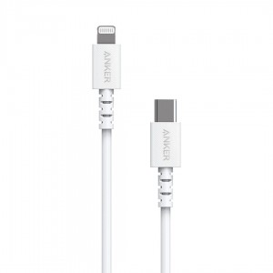 Kabel ANKER PowerLine Select USB C do Lightning 1.8 m (biały)